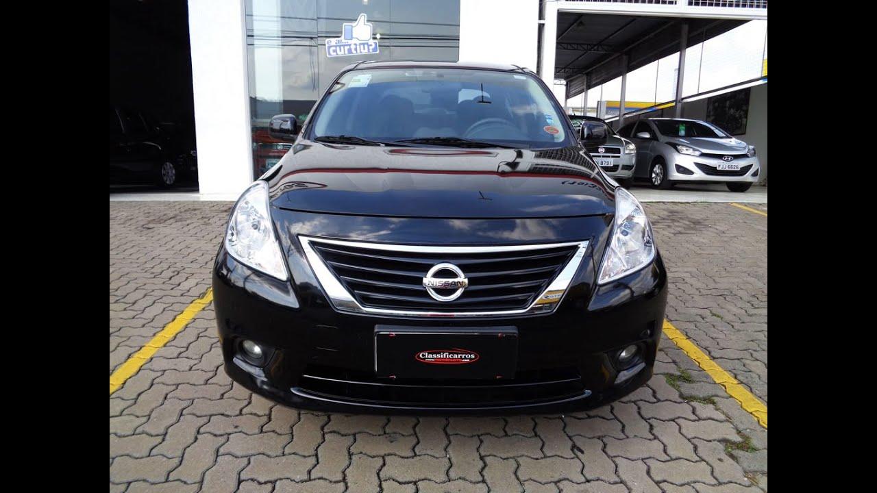 Nissan Versa SL 1.6 16v (Flex)   2014   YouTube