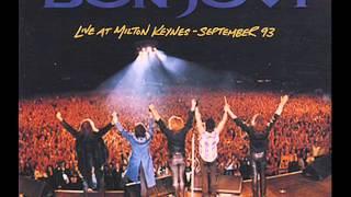 Bon Jovi You Give Love A Bad A Bad Name live