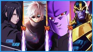 GOJO VS SASUKE VS HIT VS THANOS   Battle Of Purple 2   In Hindi