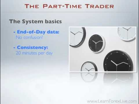 Part time forex trading strategy