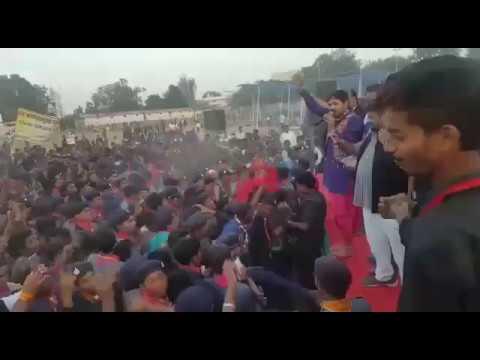 Aarug The Folk Band Prformed at Ambikapur (sarguja) on Jamburi 2016
