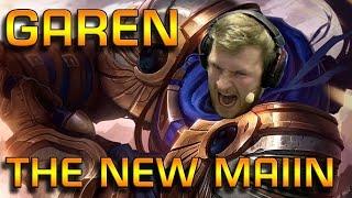 GAREN THE NEW MAIN | Garen Toplane - edit. Gameplay [GER]