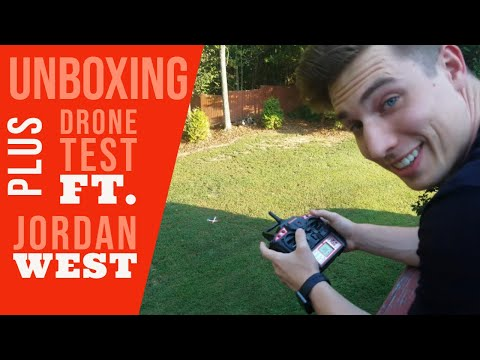 World Tech Toys Striker-X HD Camera Drone 2.4Ghz Full Unboxing And Review Ft. Jordan West!