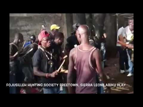Fojusilleh Hunting Society, Freetown, Sierra Leone Abiku play