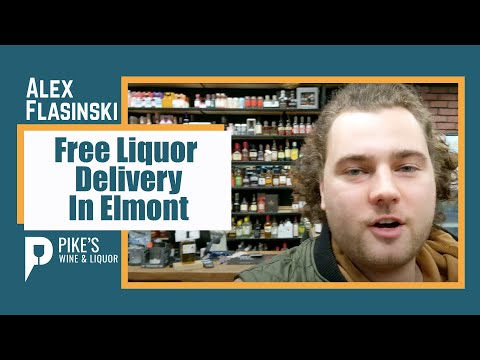 Free Liquor Delivery In Elmont 🍾 🚚 A Present From Pike's Wine & Liquor