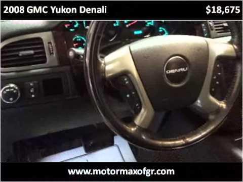 2008 gmc yukon denali used cars grand rapids mi youtube for Motor max grand rapids