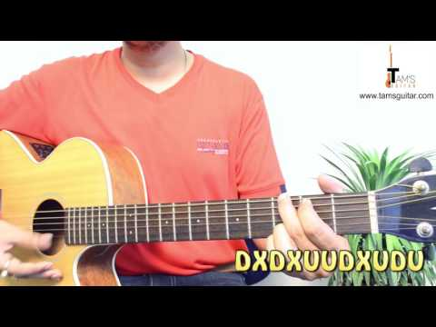 Coldplay - Up&Up guitar lesson (www.tamsguitar)