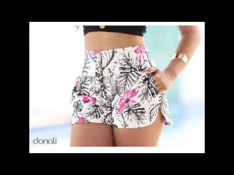 Shorts moda tendencia 2017- 2018 para dama (Todo Chicas 2)