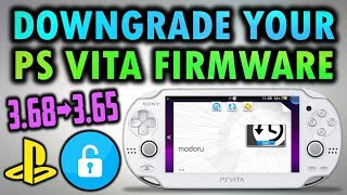 Downgrade Your PS Vita/PS TV With Modoru! (3.60/3.65/3.68)