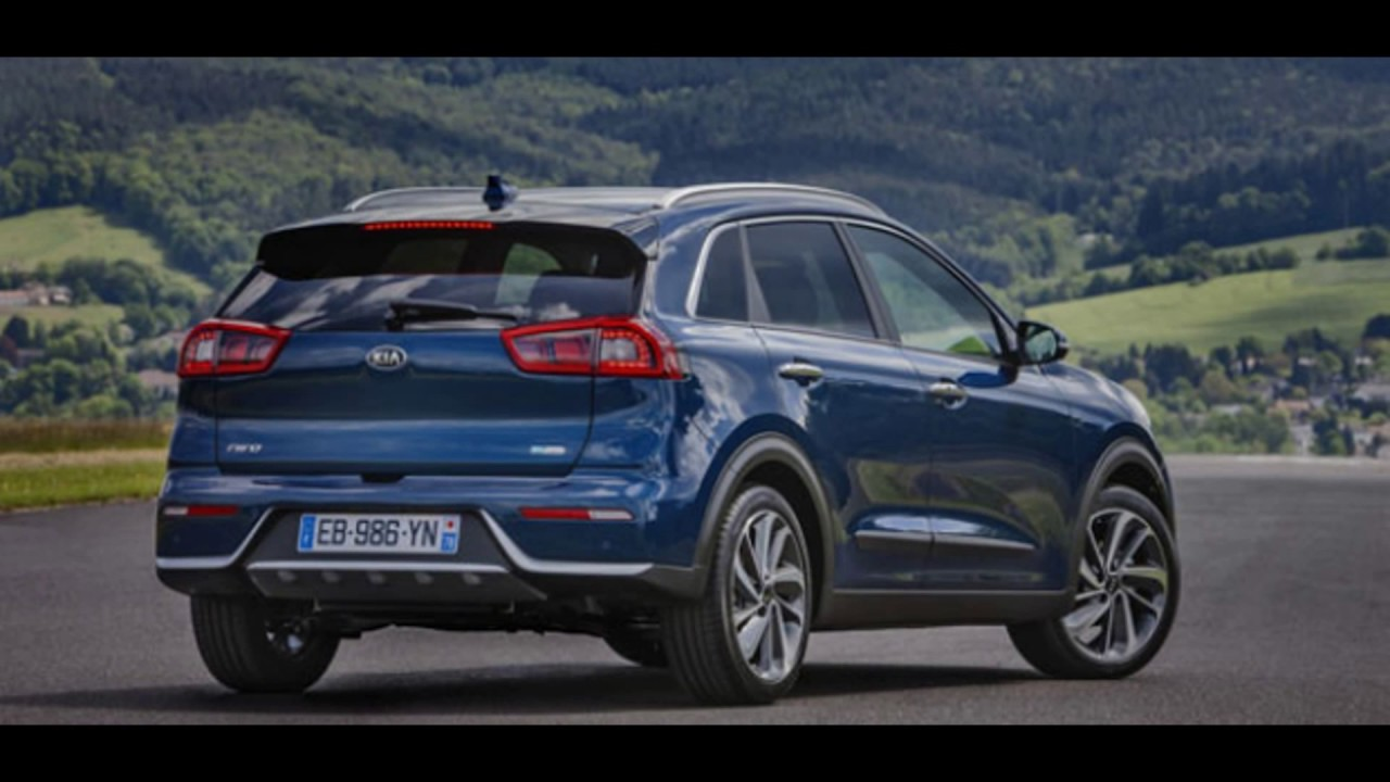 2018 kia new niro plug in hybrid phev concept youtube. Black Bedroom Furniture Sets. Home Design Ideas