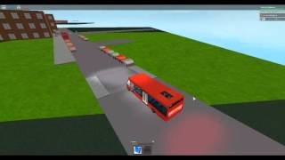Roblox London Hackney & Limehouse autobús Simulador Haciendo una Ruta 309 en el último día del 30 de abril de 2016