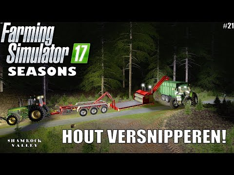 'HOUT VERNSIPPEREN!' Farming Simulator 17 Seasons Shamrock Valley #21 thumbnail