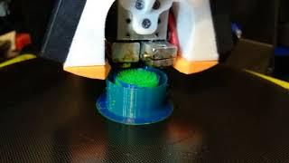 Печать на Chimera в два цвета 3D принтер Anycubic Kossel Plus