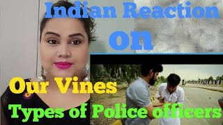 Indian Reaction on  Police Officers In Pakistan By Our Vines & Rakx Production 2018 New