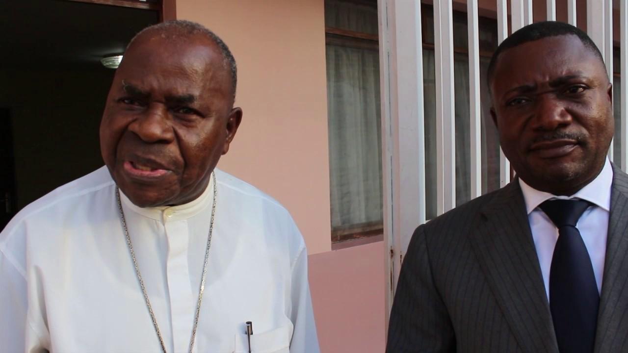"""Résultat de recherche d'images pour """"Mgr Gérard Mulumba, frère d'Etienne Tshisekedi,"""""""
