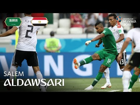 SALEM ALDAWSARI Goal - Saudi Arabia v Egypt - MATCH 34