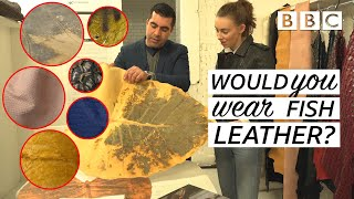 The astonishing fabrics we could be wearing in the future! | Fashion Conscious - BBC