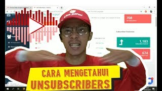 Cara mengetahui UNSUBSCRIBER channel YouTube kita | How to find out UNSUBSCRIBER YOUTUBE
