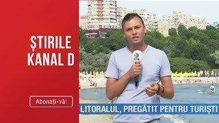 Stirile Kanal D14.06.2019   Litoralul Pregatit Pentru Turisti Editia De Pranz