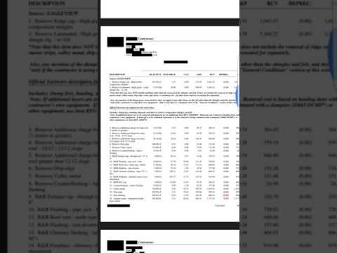 What's Wrong With This Insurance Estimate? How to Get O&P - 01