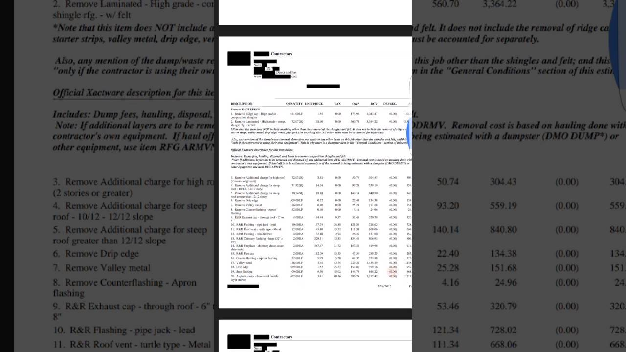 What S Wrong With This Insurance Estimate 01 How To Get