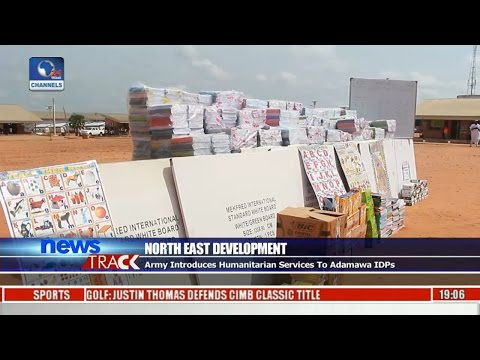 North East Development: Army Introduces Humanitarian Services To Adamawa IDPs