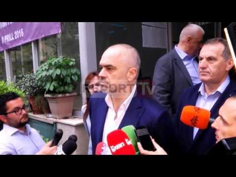 Report TV - Referendumi, Rama voton në Qesarakë: Procesi transparent