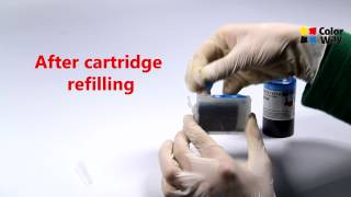 video manuals for installation of refillable cartridges colorway for epson xp 406
