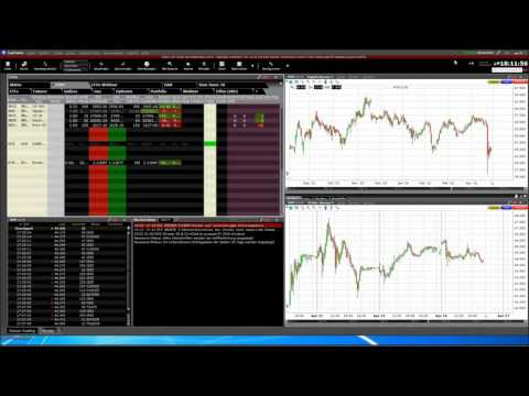 CapTrader: Trader Workstation TWS und AgenaTrader Software Grundlagen