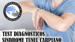 Sindrome del tunel carpiano, pruebas y test diagnosticos  /  Fisioterapia a tu alcance