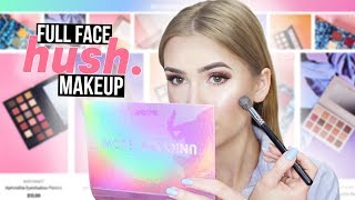 FULL FACE USING MAKEUP FROM HUSH | ShopHush.com Tested!!