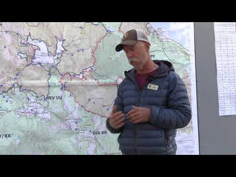 Wednesday 9/1/2021 East Zone Morning Operations Briefing, Operations Section Chief, Jeff Surber