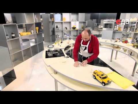 Вареники с картошкой и шкварками рецепт от шеф-повара / Илья Лазерсон / украинская кухня
