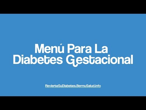 Menú Para La Diabetes Gestacional | Menu For Gestational Diabetes