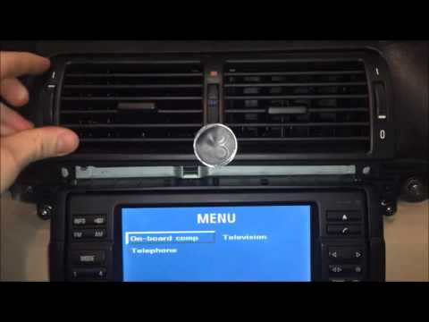 How To Install An Aux Cable Into A Bmw E46 318i 2004 2005 Youtube