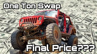 "How Much Did My ""Junkyard"" 1 Ton Swap Cost??"
