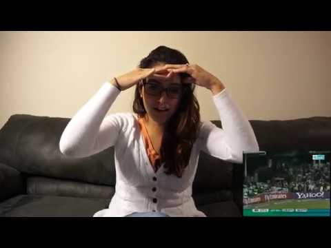 American girl reacts to Yuvraj Singh's 6 sixes in one over (India vs England)