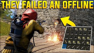 THEY TRIED to OFFLINE RAID our LOADED BUNKER BASE but FAILED! - Rust Duo/Trio Gameplay Ep 5