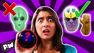 MAGIC 8 BALL Controls Our Halloween Costumes (found clues)
