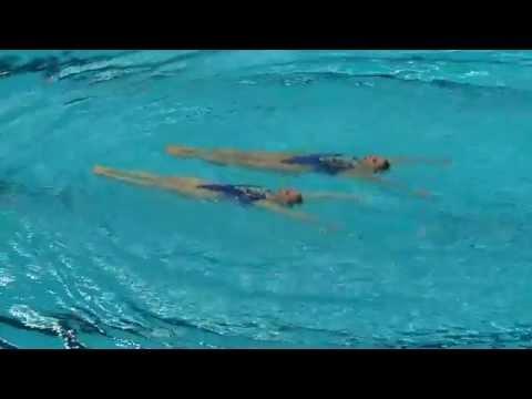 Золотой танец на воде российских синхронисток на Чемпионате Мира в Казани