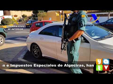 📺 Intervienen más de 520 kilos de cocaína y detienen a ocho personas en Algeciras