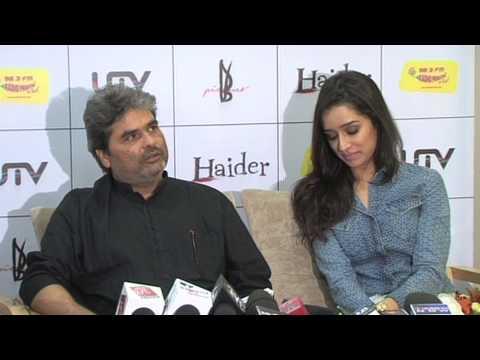 Haider: Vishal Bhardwaj on Shraddha Kapoor singing 'Kashmiri Folk'