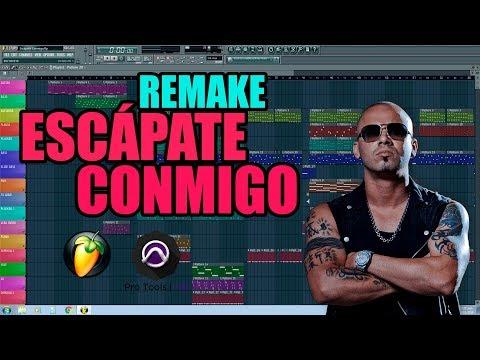 Wisin ft. Ozuna - Escápate Conmigo - FL Studio + Pro Tools [Remake]