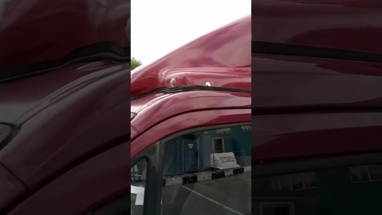 Спойлер на крышу газель -3302 фургон (с ушами) 1,8м