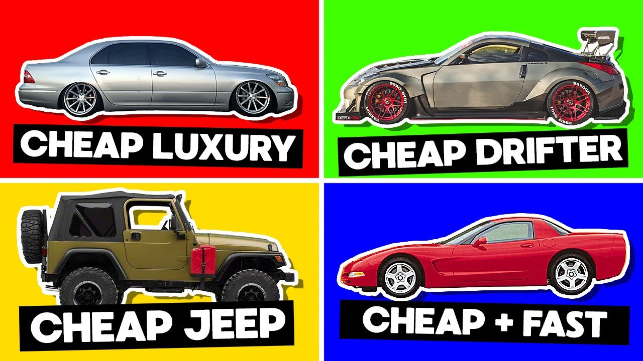 20 DIRT CHEAP Cars For EVERY Situation