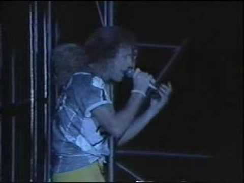 VAN HALEN - black and blue (1989 live)
