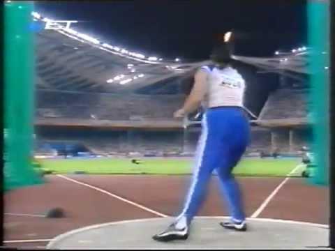 Athens 2004 Olympic Games - Anastasia Kelesidou - Women's discus throw