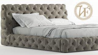 """№145. Sofa modeling """" Vittoriafrigerio caracciolo """" Autodesk 3ds Max & marvelous designer"""