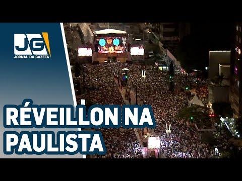 Réveillon na Paulista tem fogos silenciosos e shows