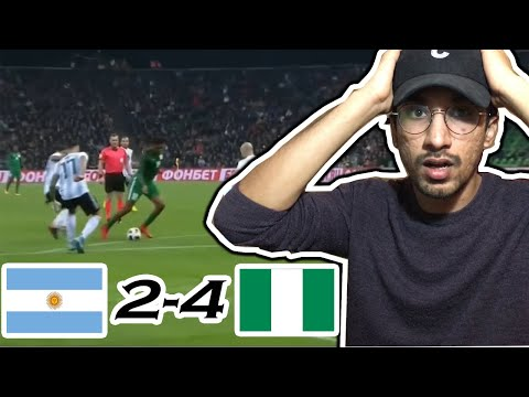 Argentina vs Nigeria 2-4 - All Goals & Extended Highlights - Friendly 14/11/2017 HD | REACTION